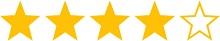 4 Sterne Rating