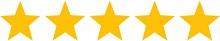 5 Sterne Rating