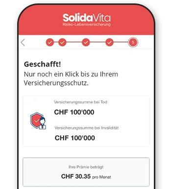 Abbildung des SolidaVita Abschlussprozesses
