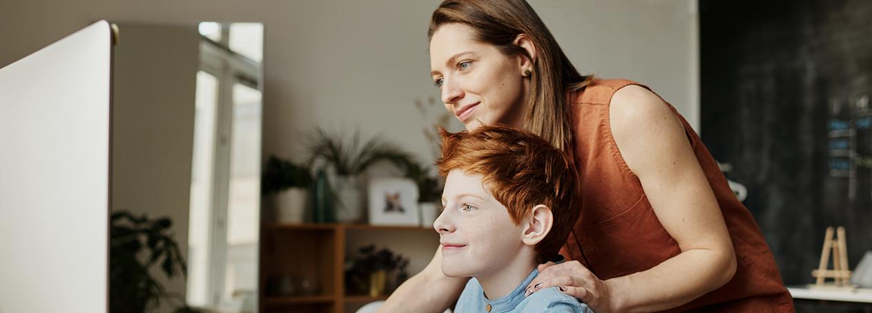 Bild von einer Mutter mit ihrem Kind